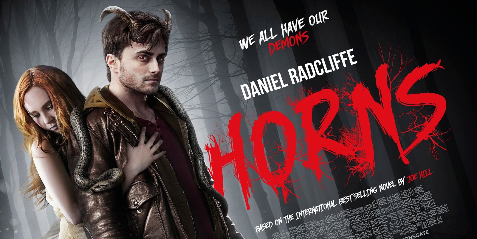 Film Review: Horns with Daniel Radcliffe and Juno Temple ... Horns Movie Poster
