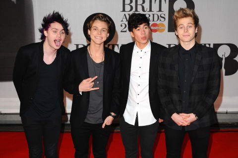 5 seconds of summer at the brits 2014