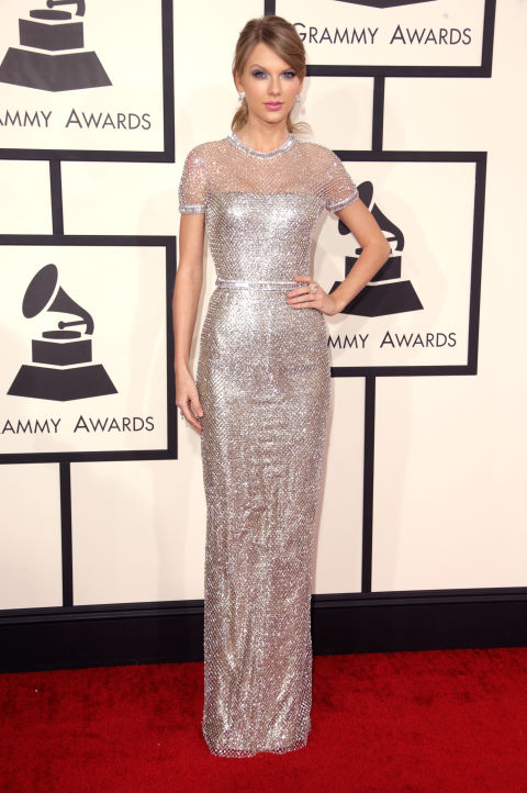 Taylor Swift at the Grammys in January. Starting off the year well, eh?