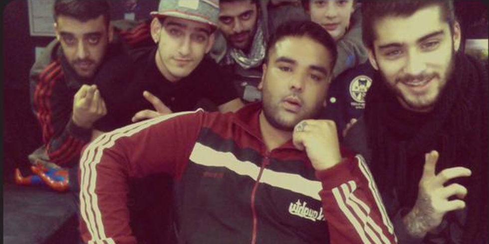 Zayn Malik and Naughty Boy tease big things coming in 2015