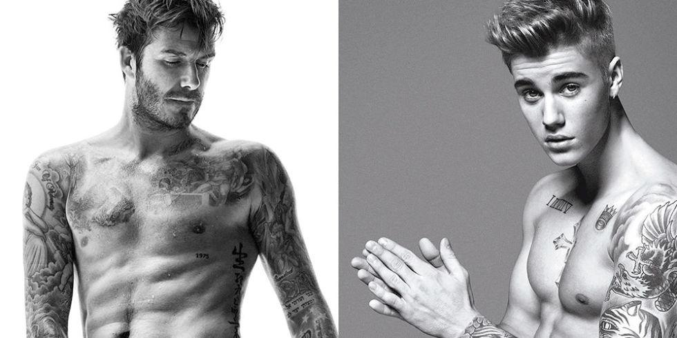 David Beckham talks Justin Bieber's Calvin Klein underwear ...