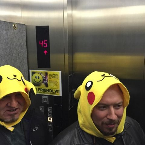 4. The time they dressed their security up as pokemon