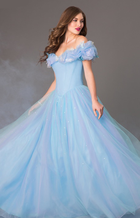 disney have released a cinderella prom dress