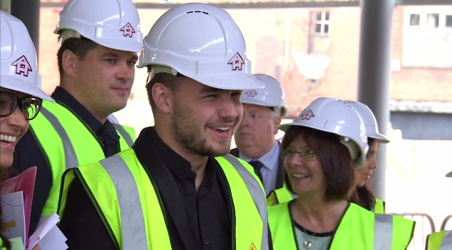 Liam Payne at the Wolverhampton youth event