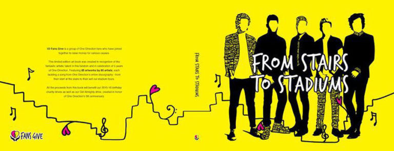 1D Fans Give create fan art book to raise money for charity