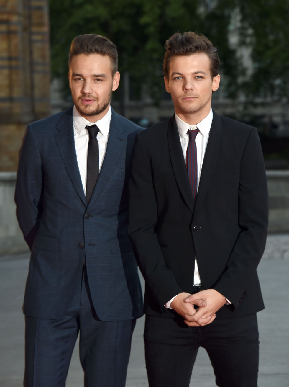 Louis Tomlinson and Liam Payne at Believe in Magic ball