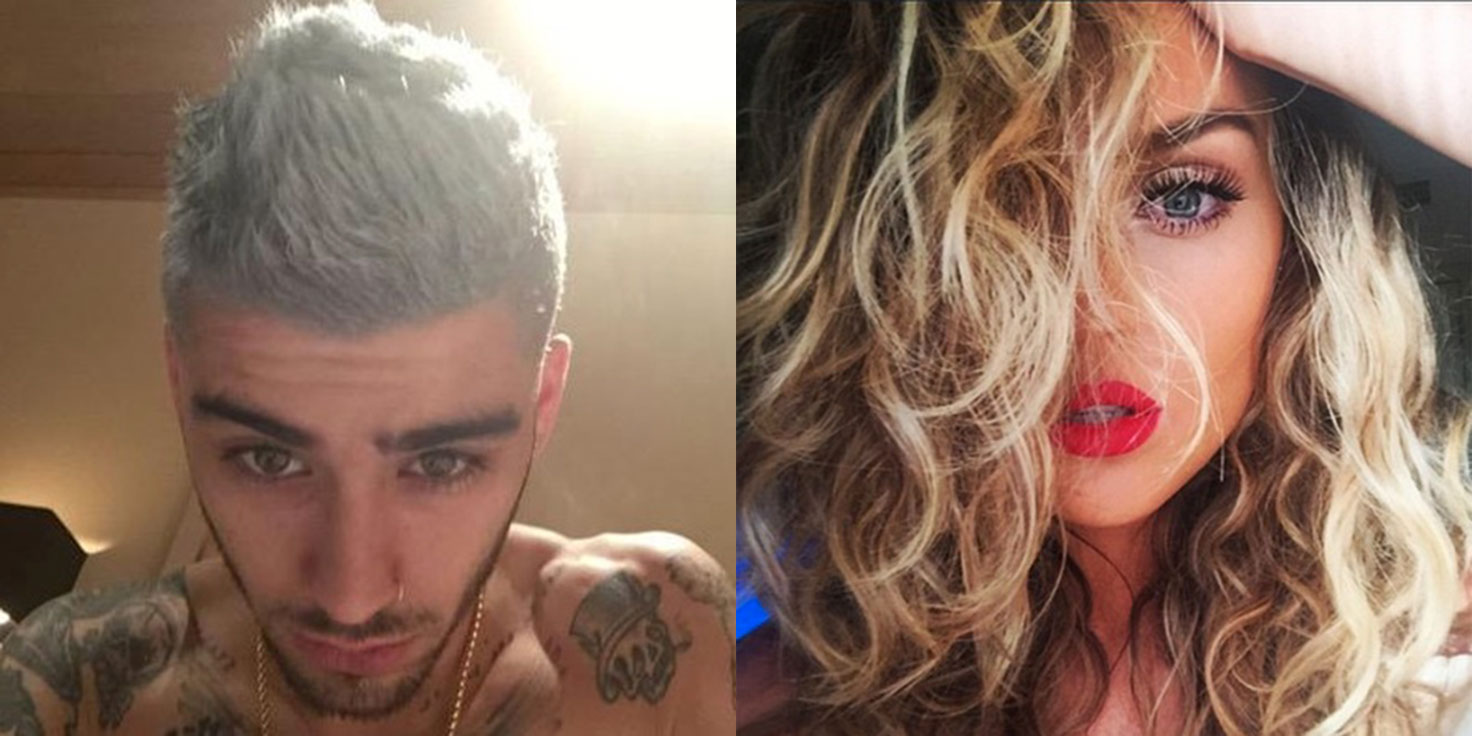 Zerrie Selfies Perrie Edwards and Zay...