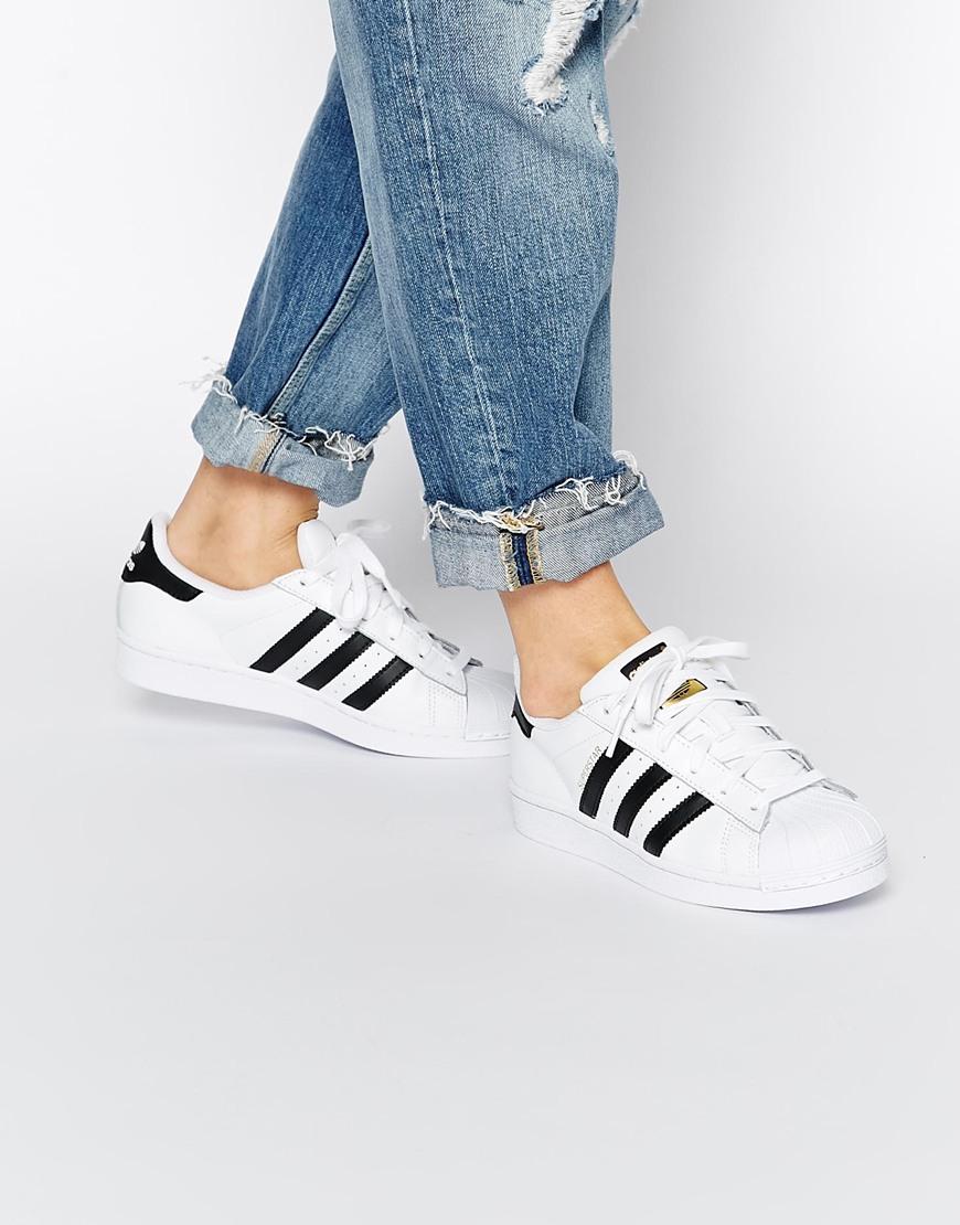Adidas Superstar Bianche E Nere Uomo