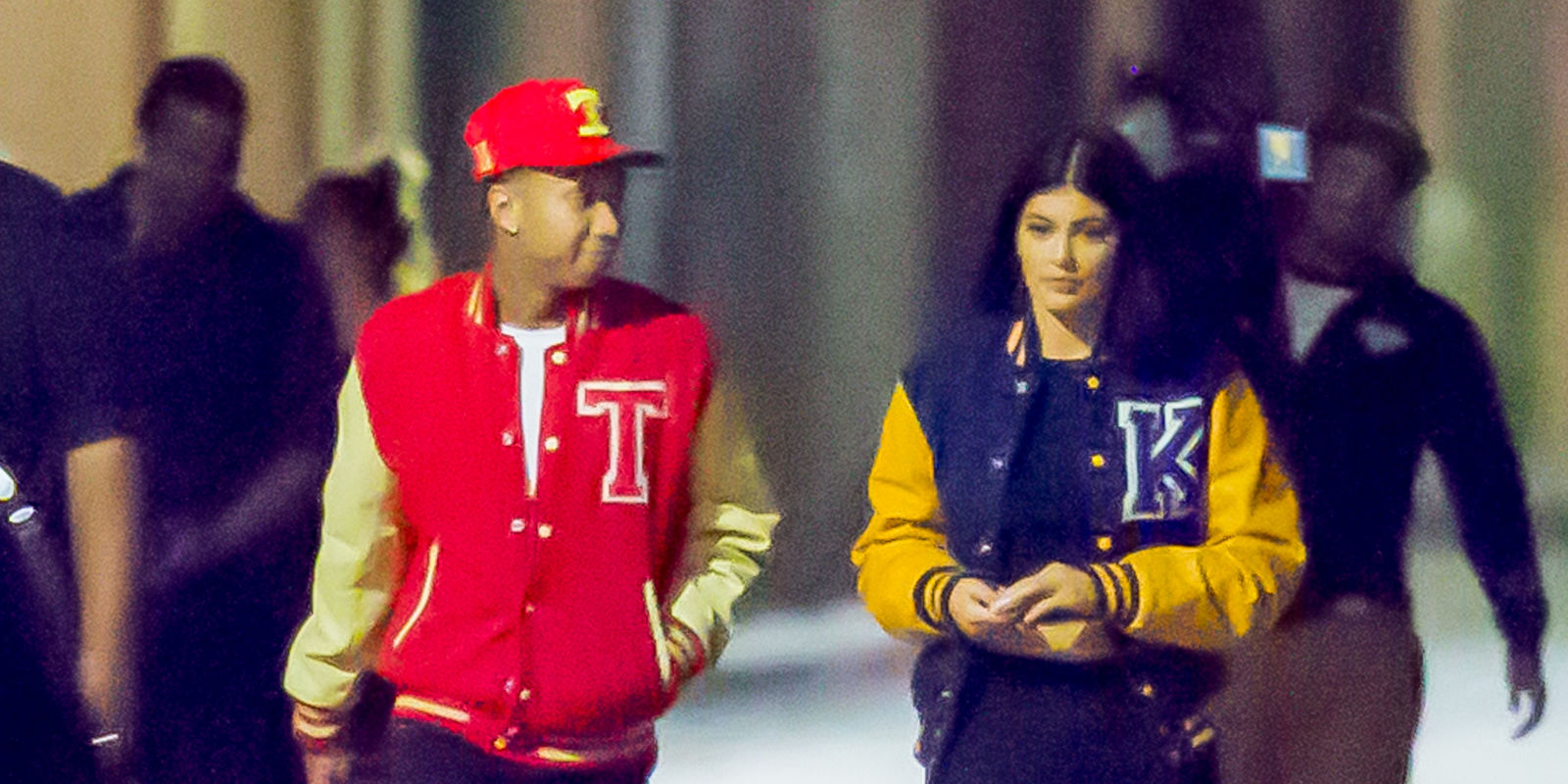 Kylie Jenner And Tyga Jenner Film Music Video In La
